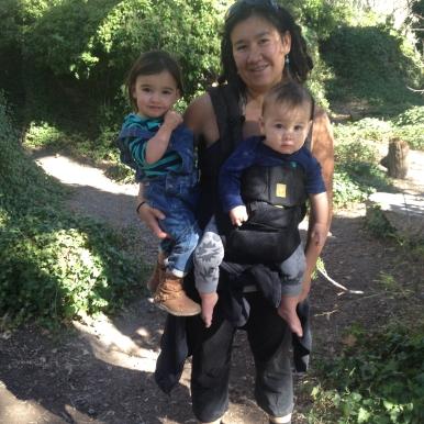 Ramona and babies